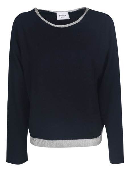 Dondup Boat Neck Jumper in blue