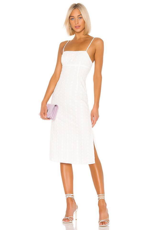 LPA Janina Dress in white