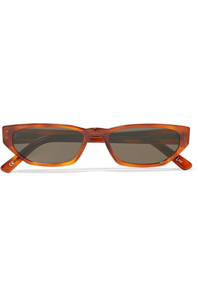 Andy Wolf - Tamsyn Cat-eye Tortoiseshell Acetate Sunglasses - Orange