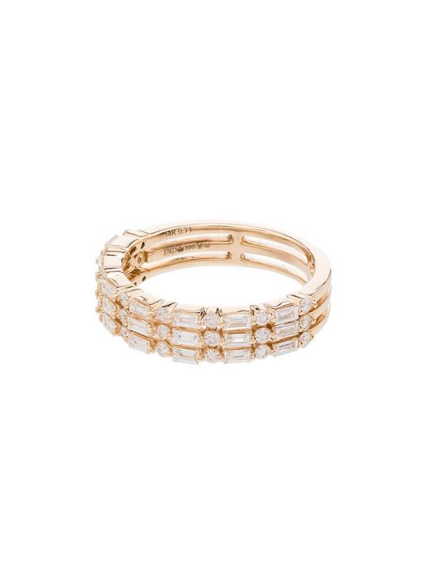 Dana Rebecca Designs 14kt yellow gold diamond ring in metallic