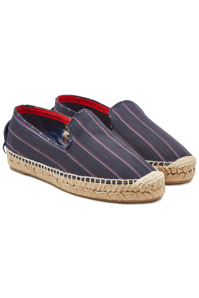 Rag & Bone Del Rey Espadrilles  in blue