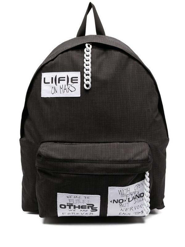 Eastpak slogan medium backpack in black