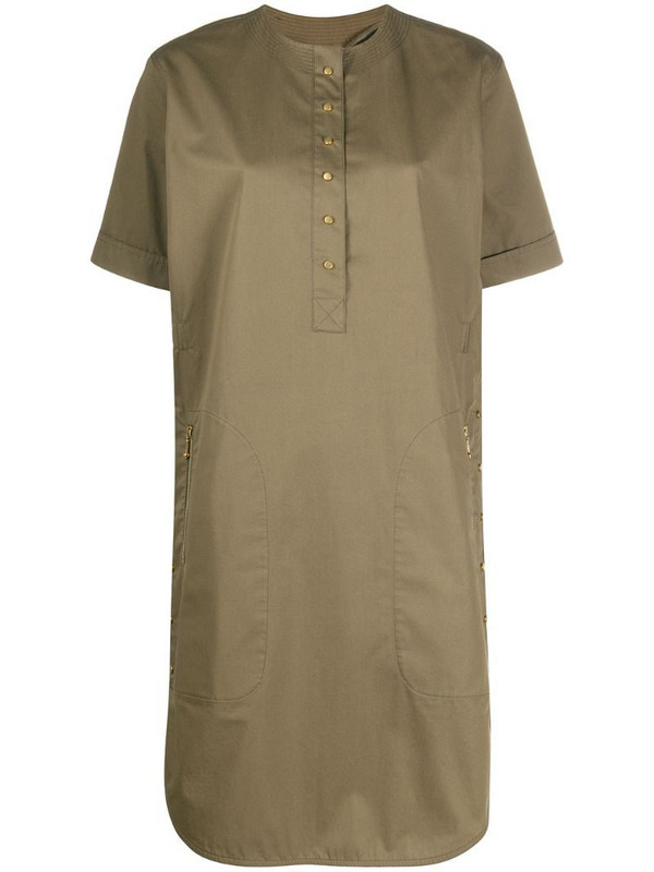 Céline Pre-Owned pre-owned shirt dress in green