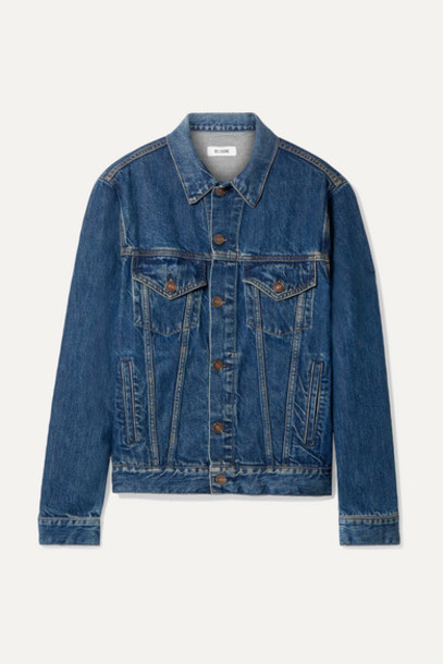 RE/DONE - 90s Denim Jacket - Mid denim