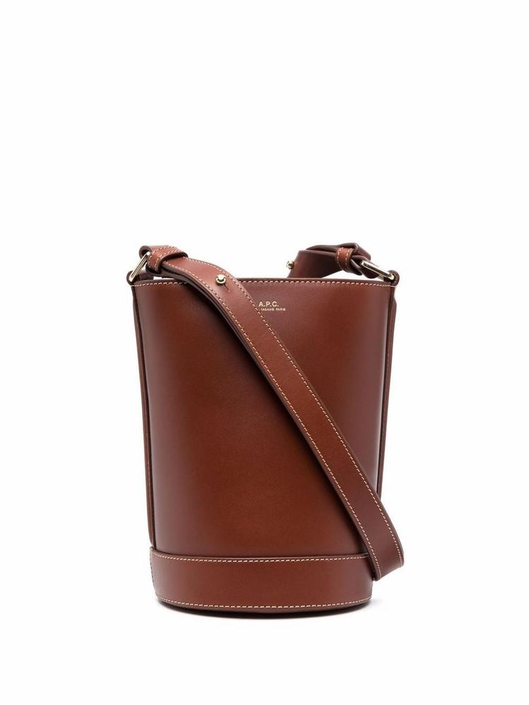 A.P.C. A.P.C. small ambre seau shoulder bag - Brown