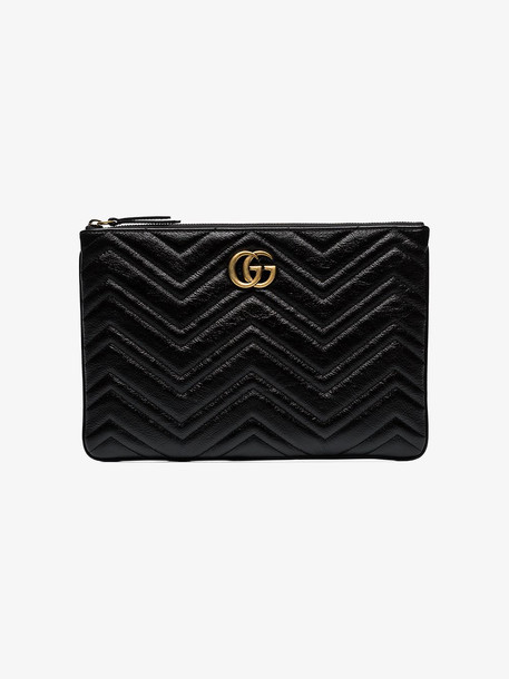 Gucci GG Marmont clutch in black