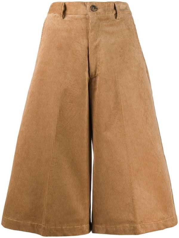 Société Anonyme wide-leg shorts in brown