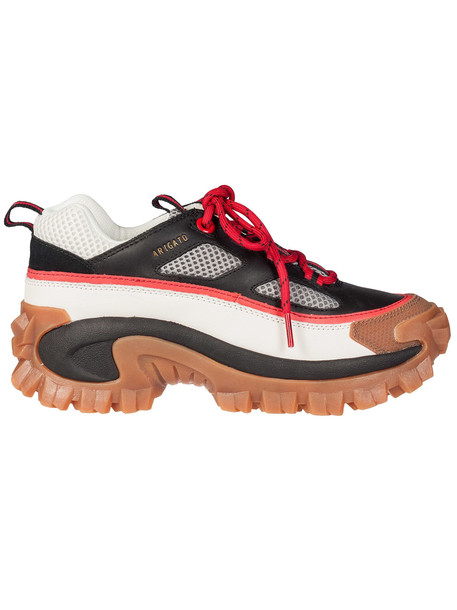 Cat The Excelsior Platform Sneakers in red