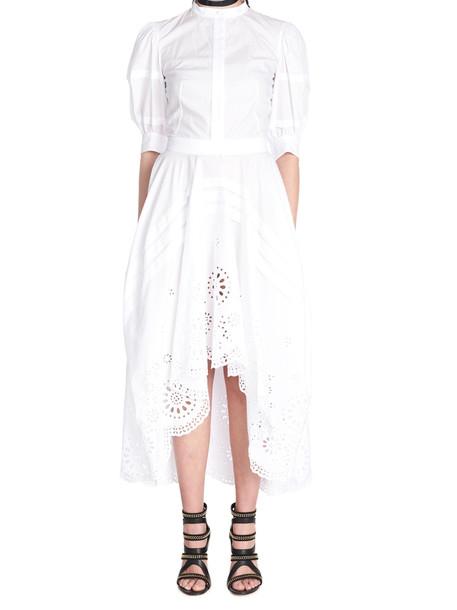 Alexander Mcqueen Dress in white