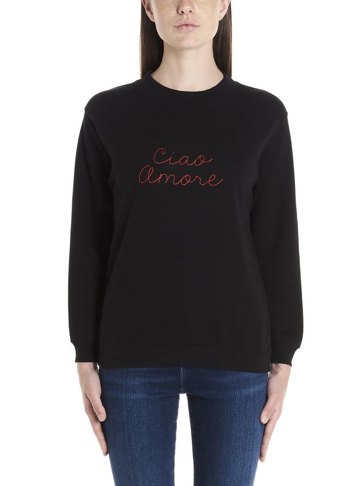 Giada Benincasa 'ciao Amore' Sweatshirt in black