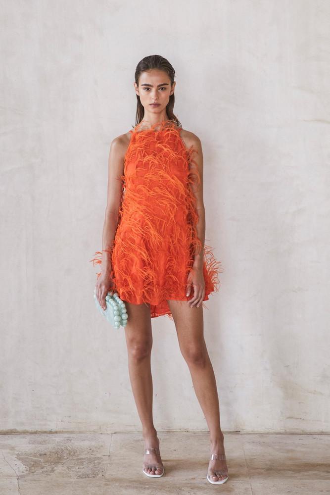 Cult Gaia Shannon Dress - Coral                                                                                               $1,198.00
