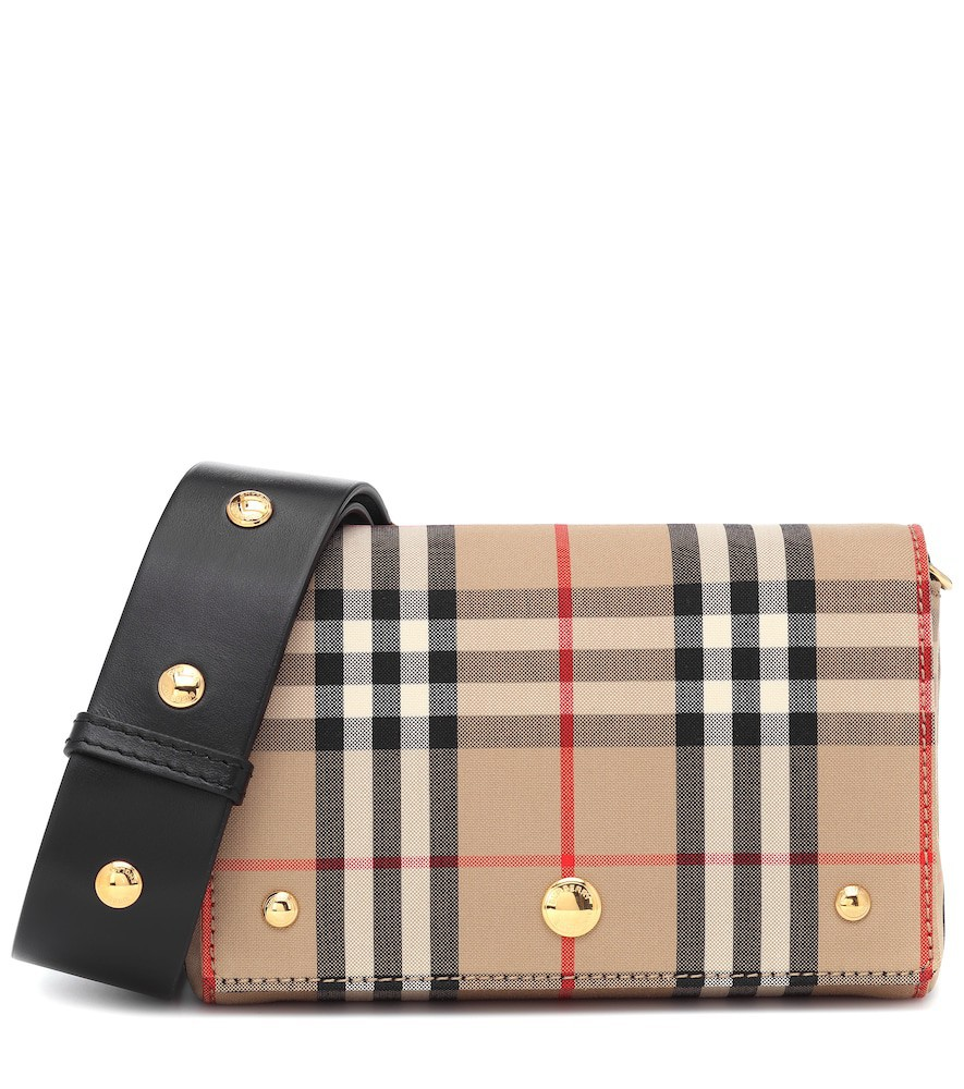 Burberry Small Vintage Check crossbody bag in beige