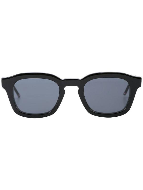 Thom Browne Eyewear chunky square sunglasses in black