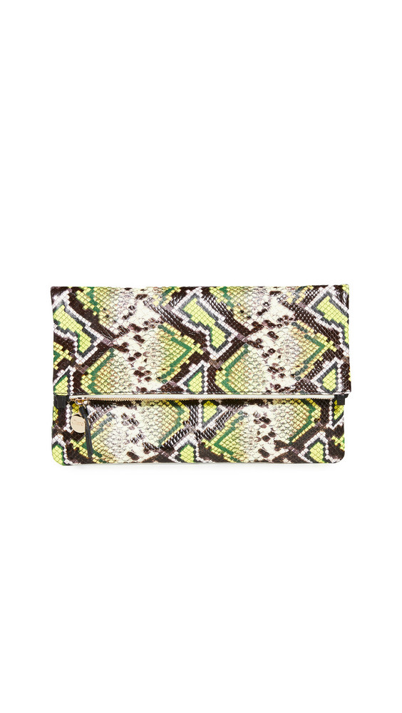 Clare V. Clare V. Fold Over Clutch in yellow