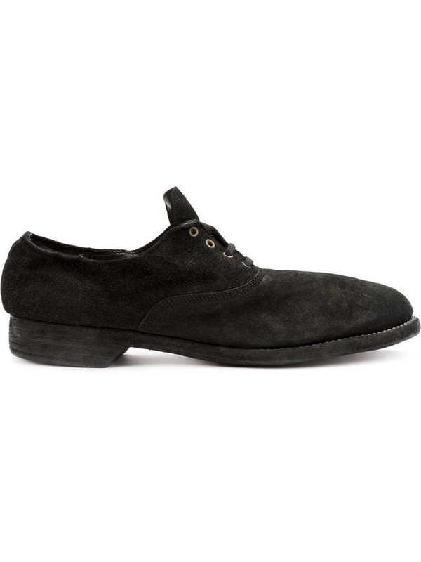 Guidi oxford shoes in black