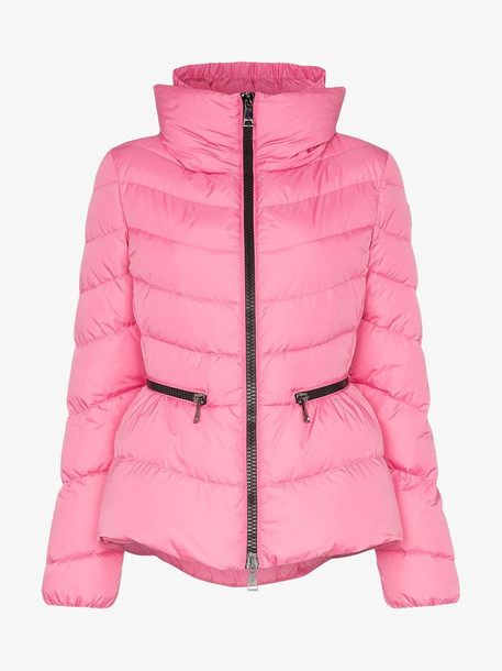 Moncler Miriel quilted jacket in pink