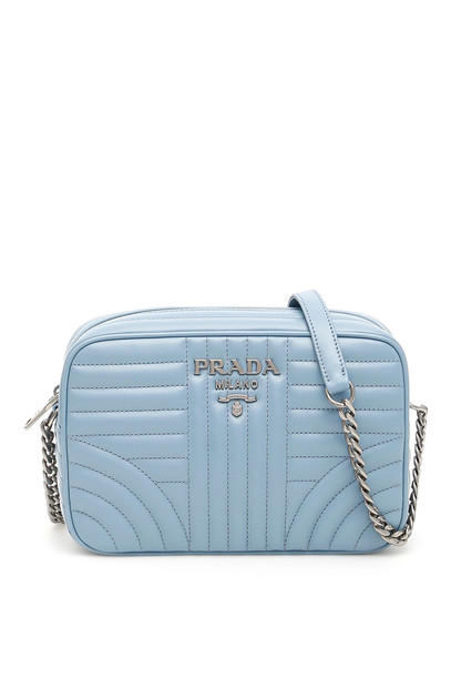 Prada Diagramme Crossbody Bag in blue