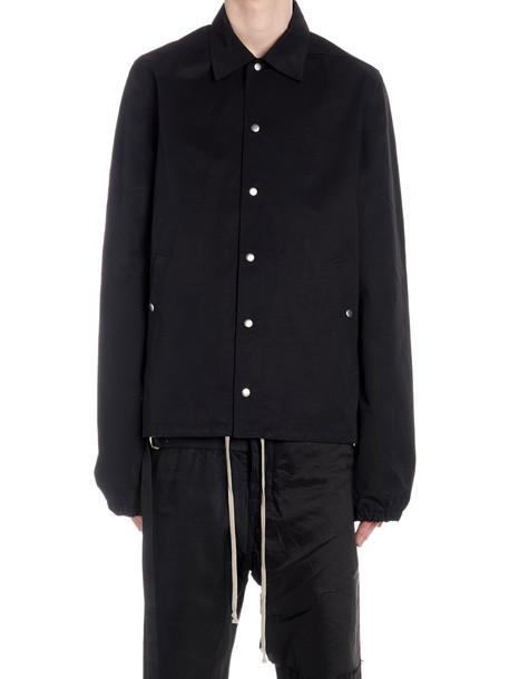 Drkshdw 'snap Front' Jacket in black