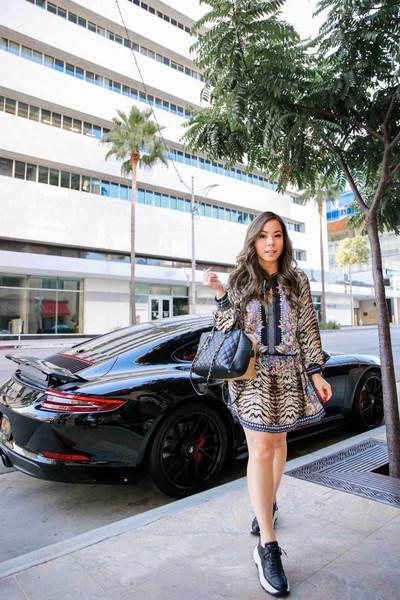 hautepinkpretty blogger dress shoes jewels bag