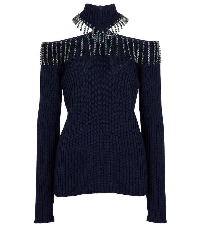 Christopher Kane Embellished turtleneck sweater