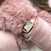 watch,pink watch,jewels
