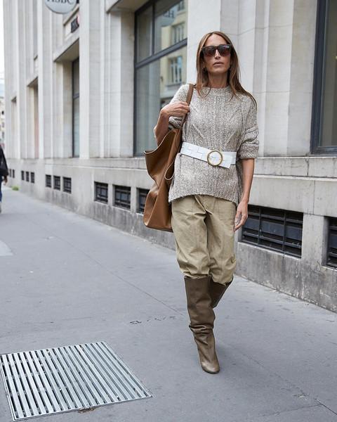 sweater bag belt