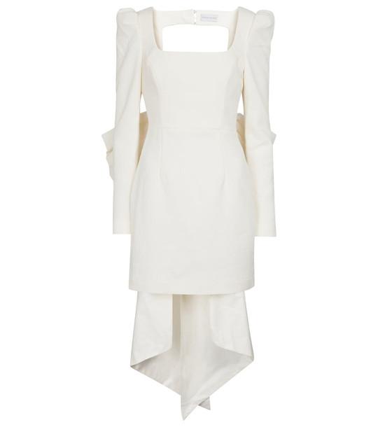 Rebecca Vallance Monique bridal minidress in white