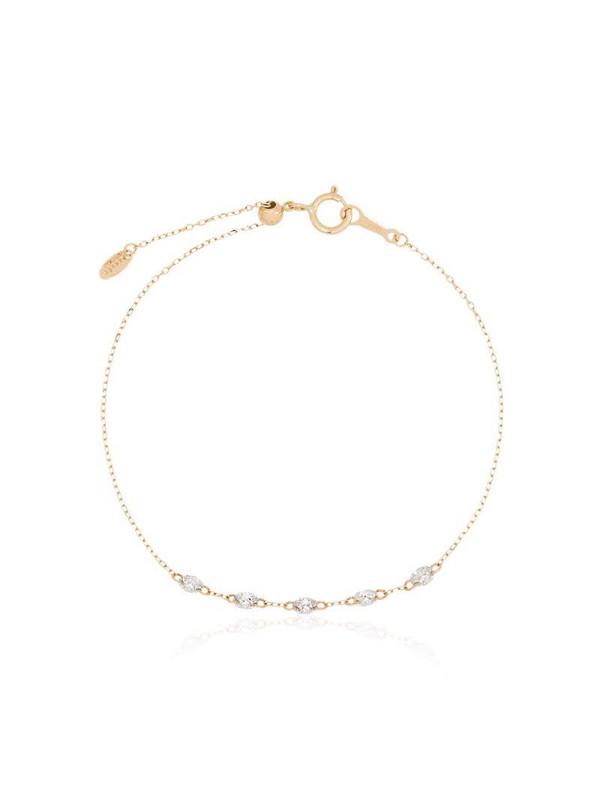 Persée 18kt yellow gold Danae diamond bracelet
