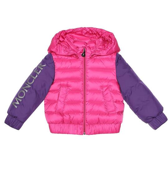 Moncler Enfant Baby Semur down coat in pink