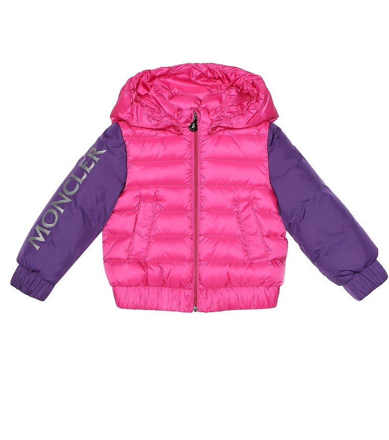 Moncler Enfant Baby Semur down coat in pink