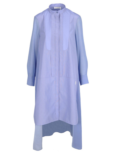 Chloé Chloe Chloé Shirt Style Dress in blue