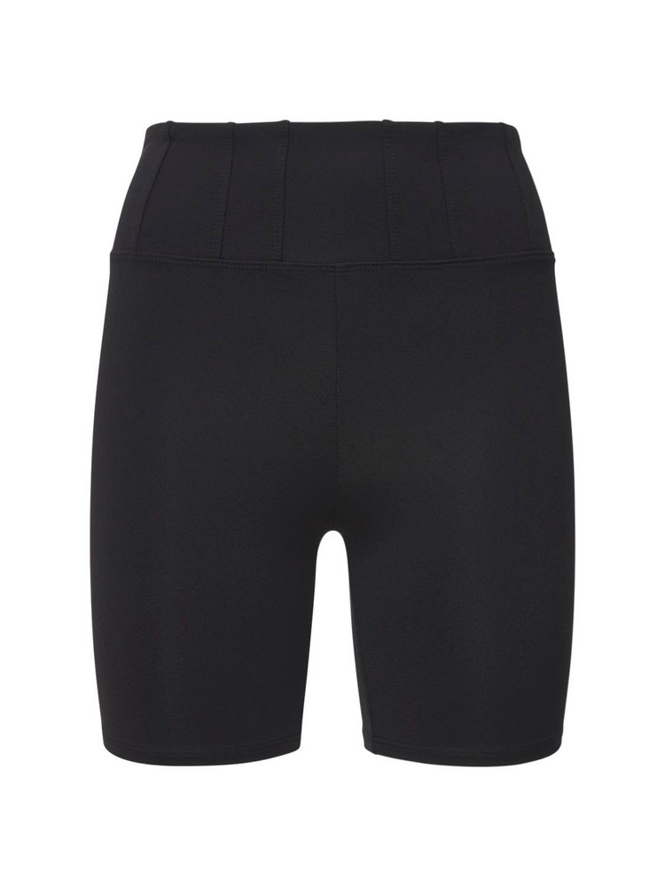 LIVE THE PROCESS Prism Seamless High Waist Shorts in black