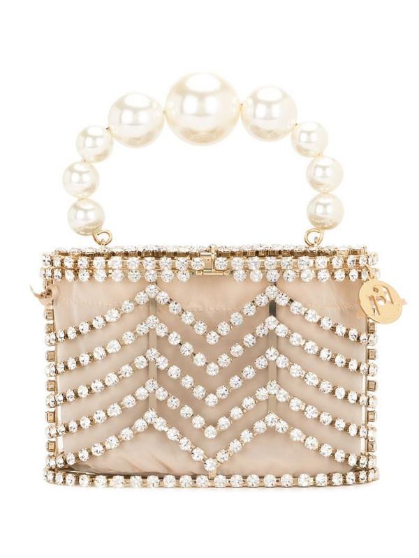 Rosantica embellished mini bag in gold