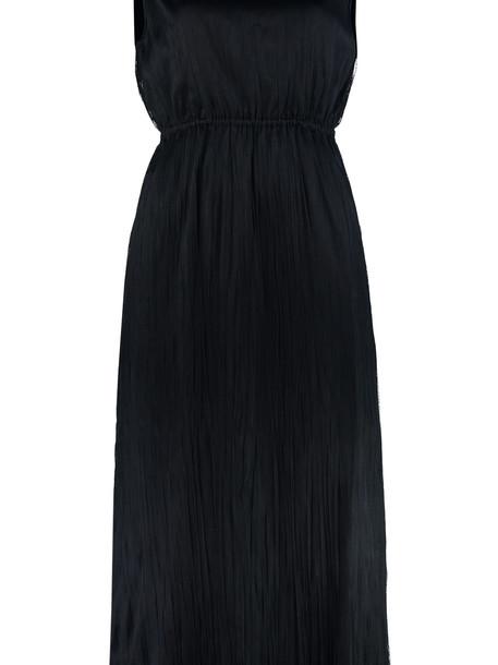 Fabiana Filippi Pleated Tulle Dress in blue