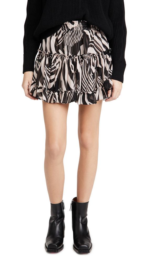 MISA Marion Skirt in black