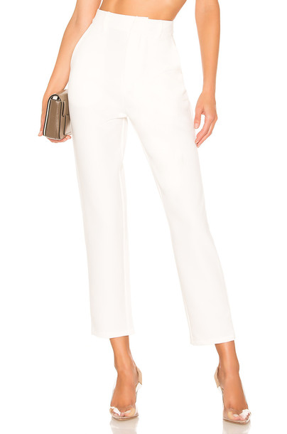 Lovers + Friends Tempo Skinny Pant in white