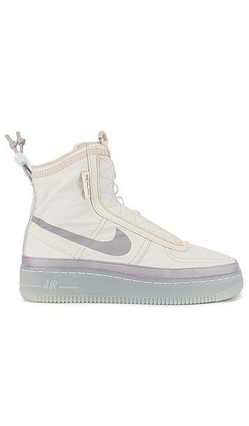 Nike AF1 Shell Sneaker in Beige