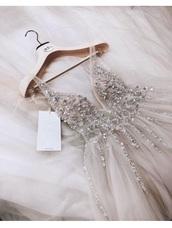 dress,white,nude,lace,sparkle,rhinestones