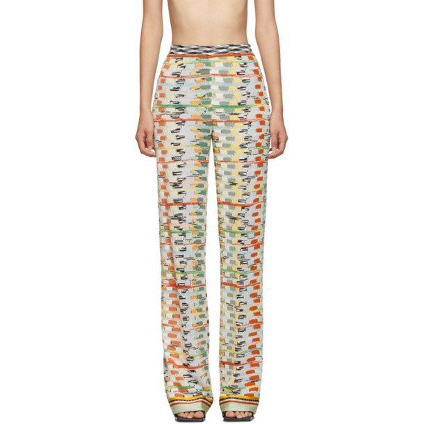 Missoni Multicolor Large Knit Lounge Pants in multi