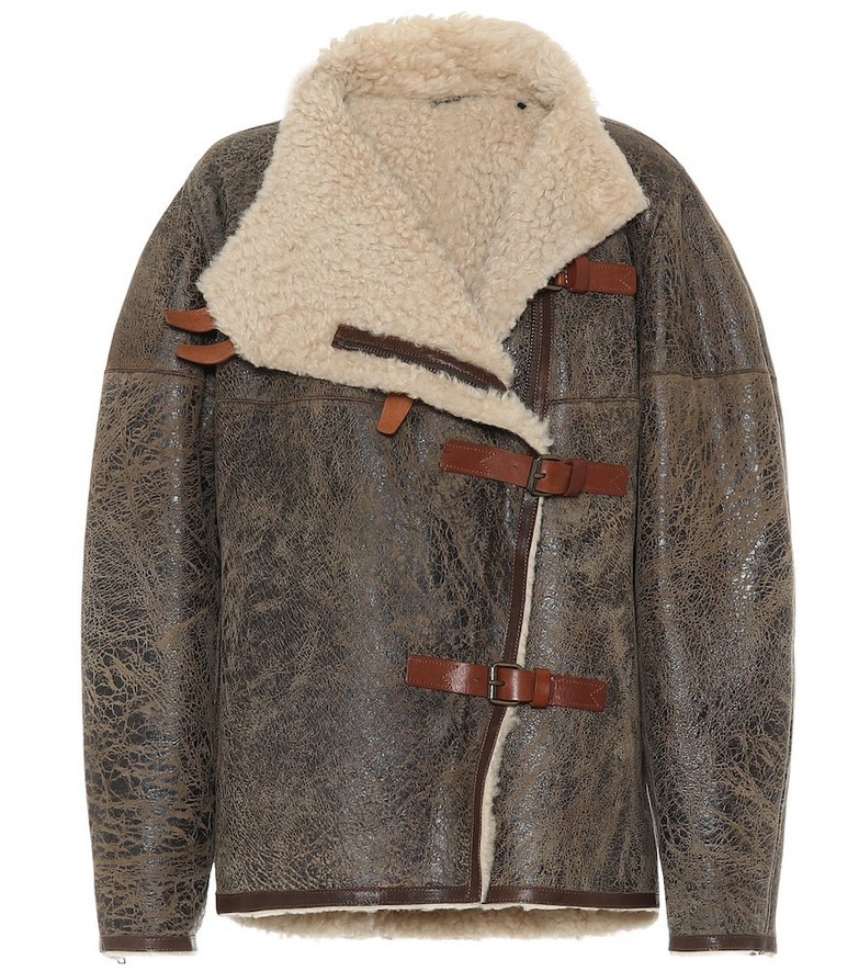 Isabel Marant Shearling jacket in brown
