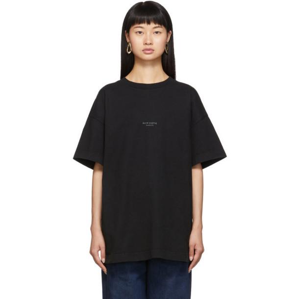 Acne Studios Black Jaxon T-Shirt