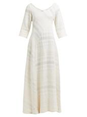 dress,maxi dress,maxi,cotton,cream