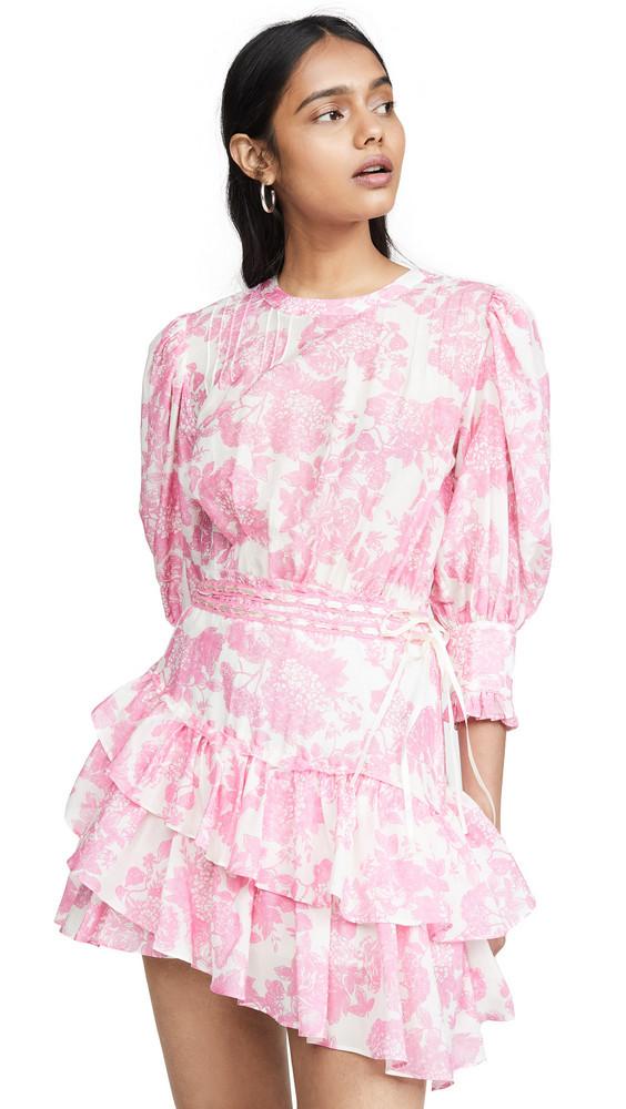 LOVESHACKFANCY Lorelei Dress in pink