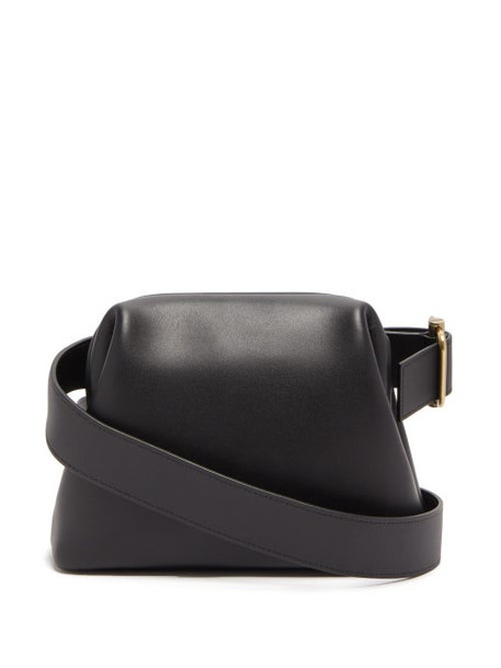 Osoi - Brot Mini Leather Cross Body Bag - Womens - Black