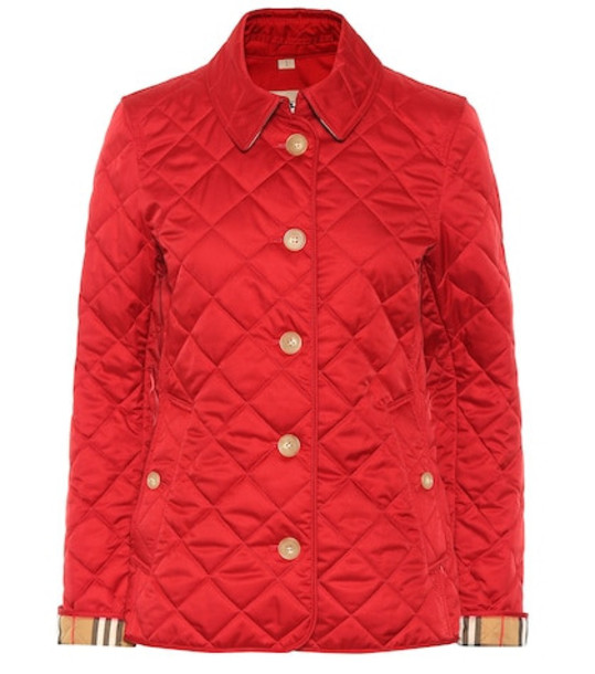 Burberry Quilted jacket in red