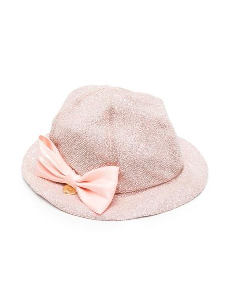 Le Bebé Enfant bow-detail hat - Pink