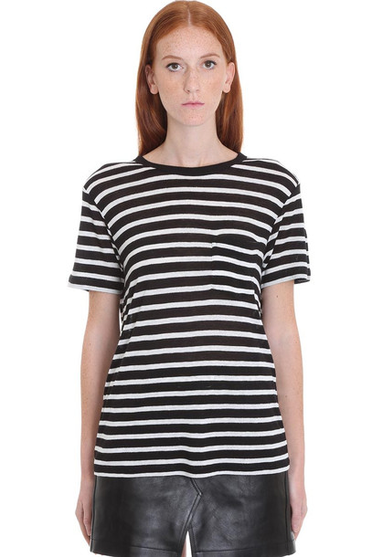 T by Alexander Wang T-shirt In Black Viscose