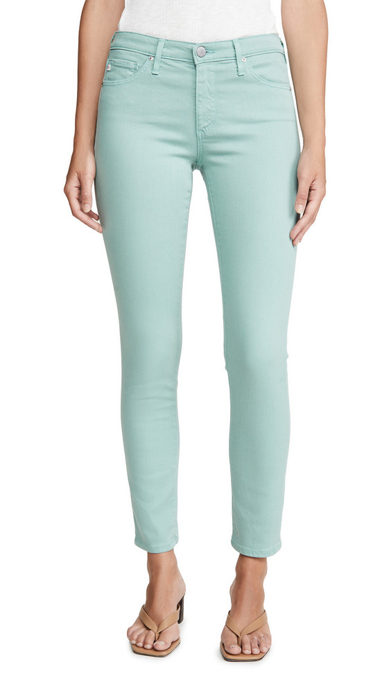 AG Prima Ankle Jeans in mint