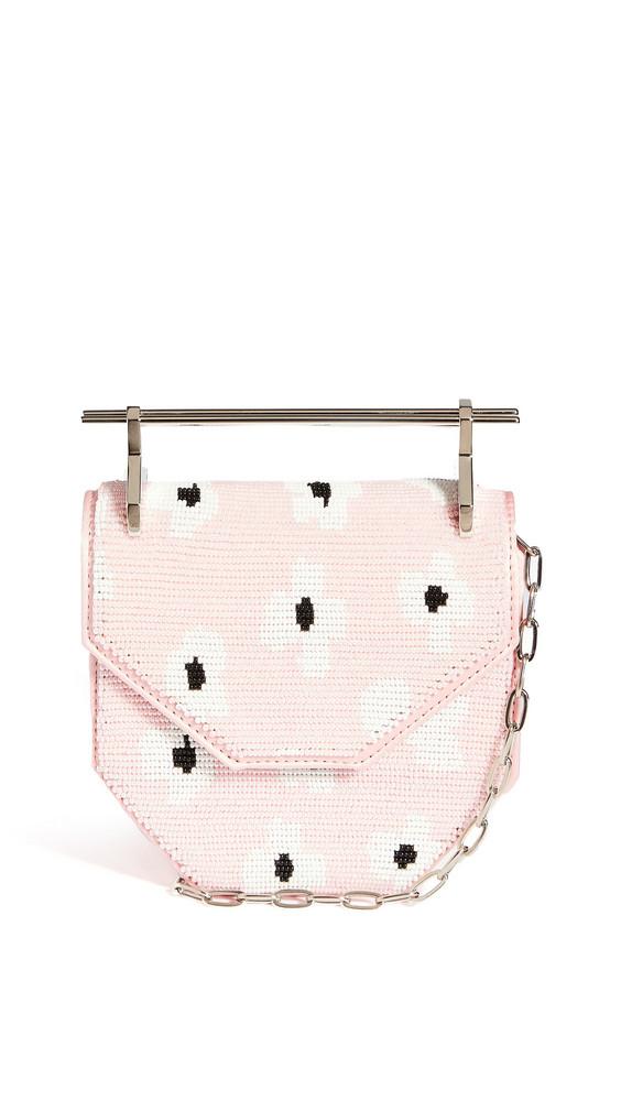 M2MALLETIER Mini Amor Fati Bag in pink