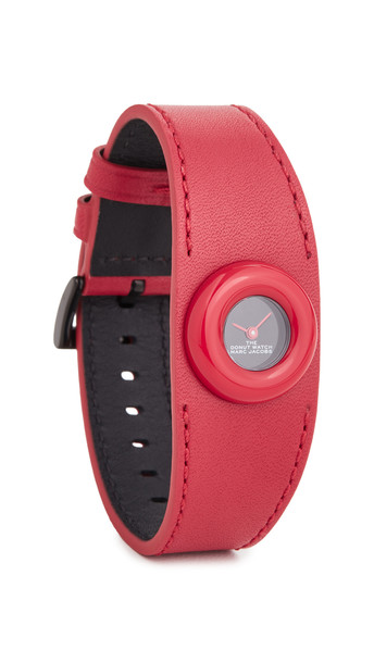 The Marc Jacobs The Donut Watch 22mm in black / red